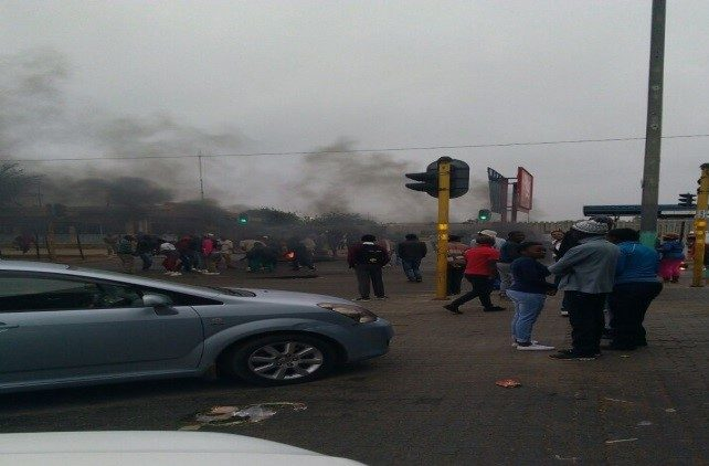 ANC blamed for Duduza unrest